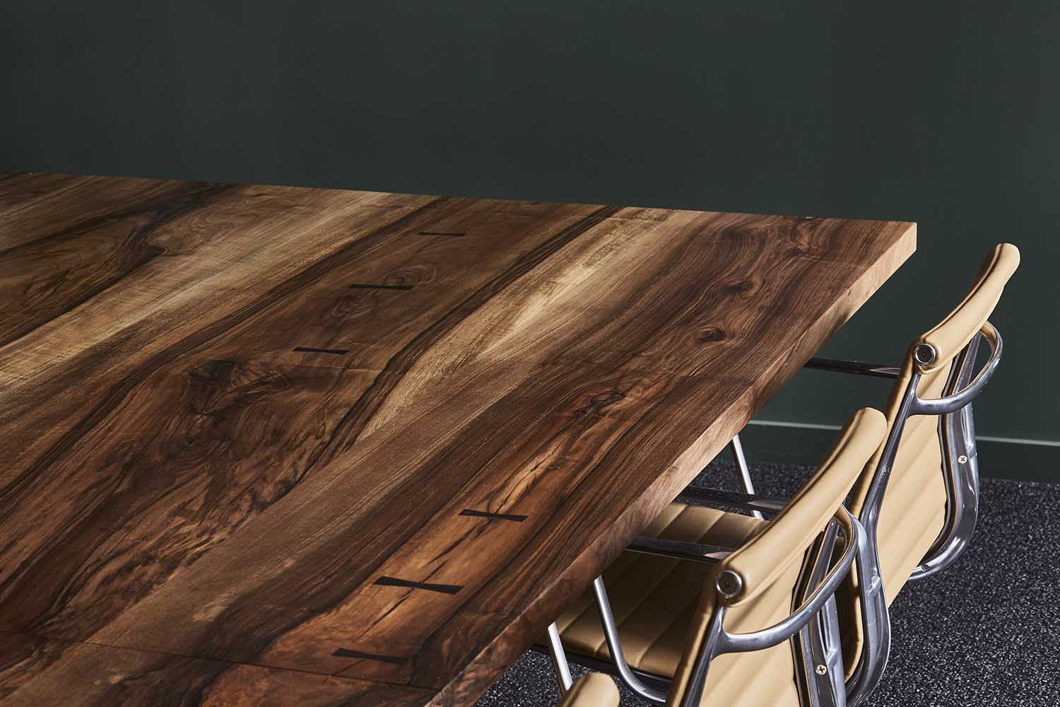 Victoria Conference Table made with European Walnut