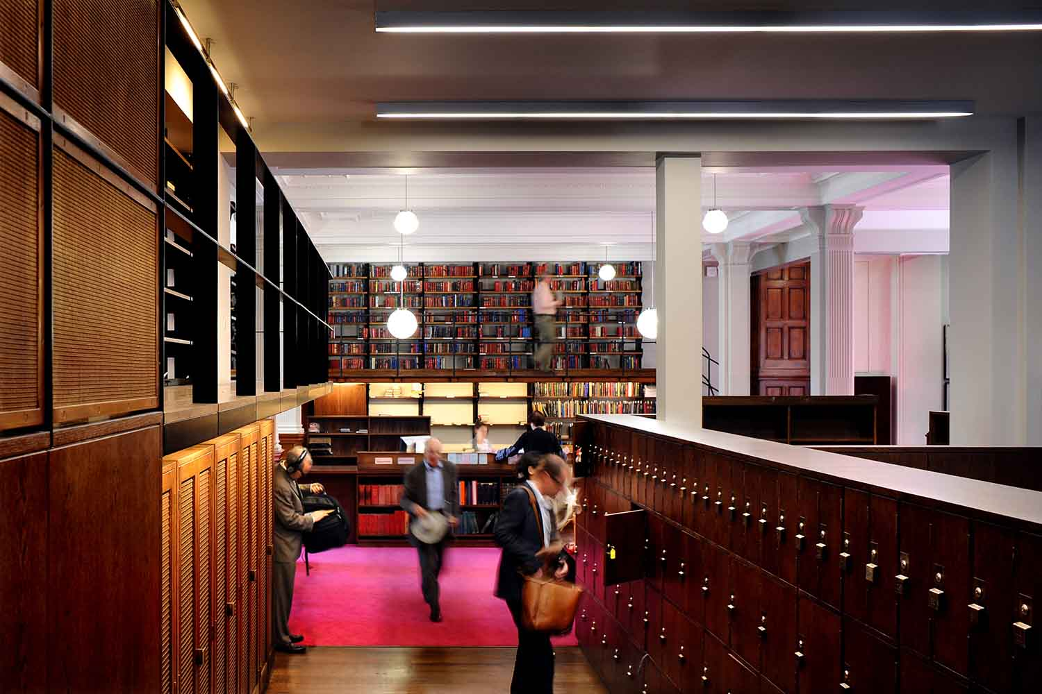 bespoke libary furniture for the London Library