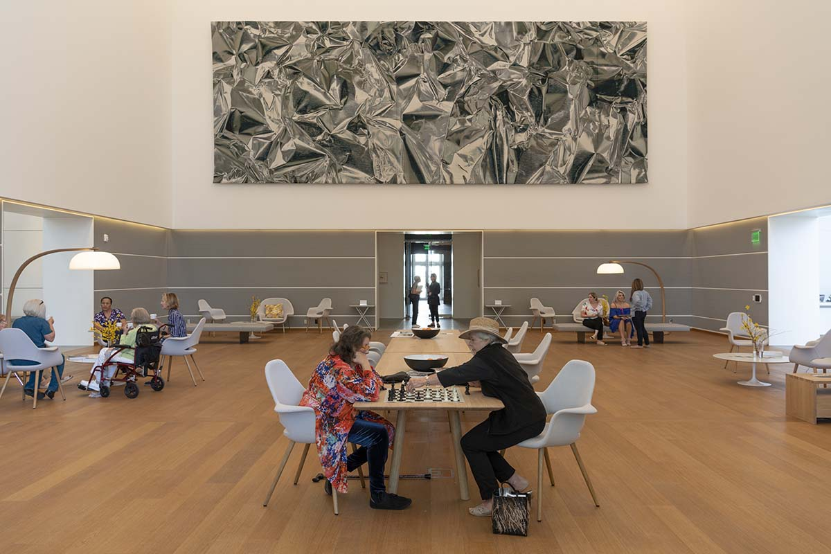 OVO DIning Table at the Norton Museum in Florida