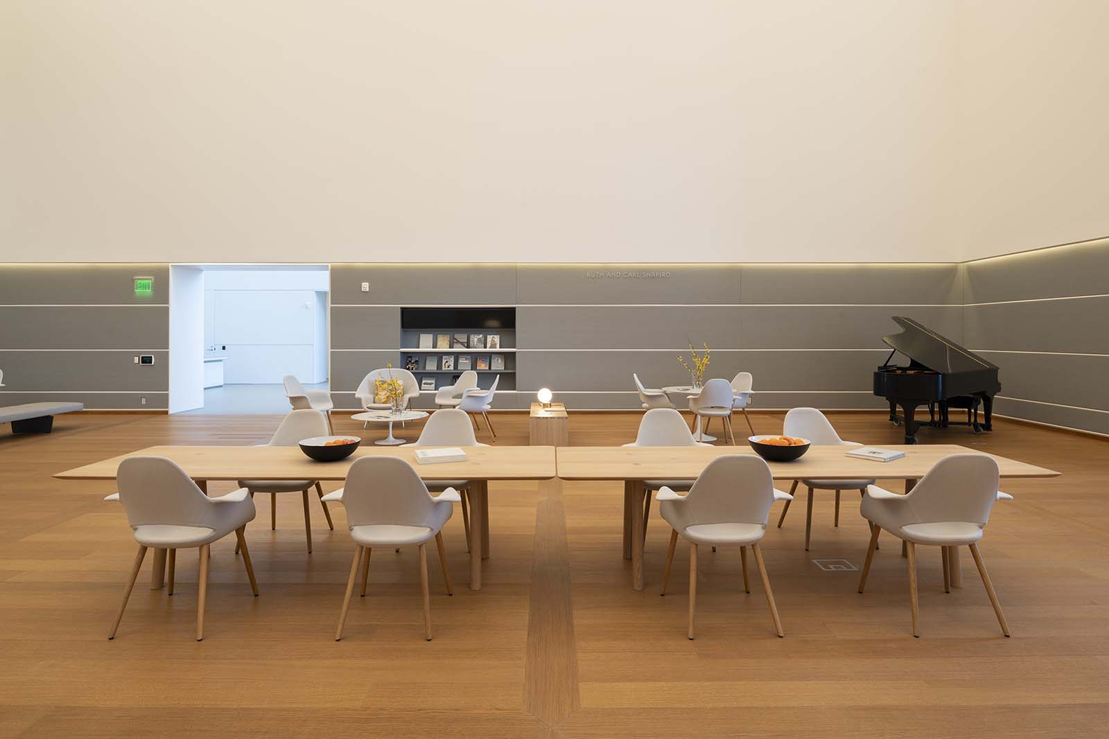OVO Dining Table at the Norton Museum Florida